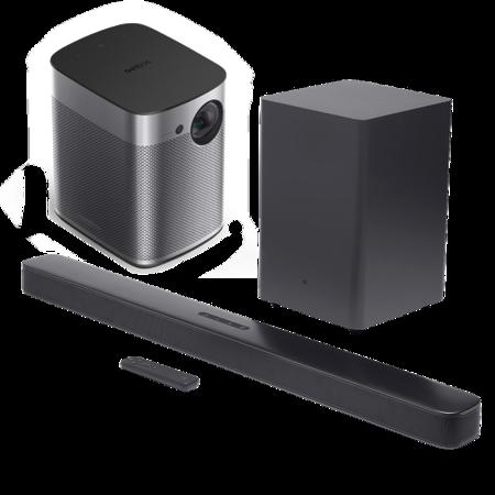 Zestaw kina domowego XGIMI Halo + JBL Bar 2.1 Deep Bass